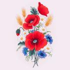Набор для вышивания Матренин Посад 5505/ГЛ «Маков цвет» 28*34 см