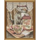 Набор для вышивания бисером Нова Слобода АМ5013 «Утренний чай» (снят) 12*16 см