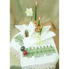 Набор для вышивания Овен №004 Рушник «Мир Вашему дому» 40*160 см