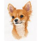 Набор для вышивания Овен №1001 «Маленький друг Чихуахуа» 15*23 см