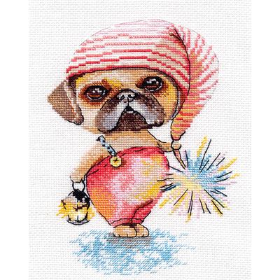 Набор для вышивания Овен №1019 «Гномик» 13*18 см в интернет-магазине Швейпрофи.рф