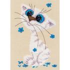 Набор для вышивания Овен №1020 «Кошка-крошка» 12*18 см