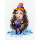 Набор для вышивания Овен №1031 «Сказки ёжика» 15*20 см