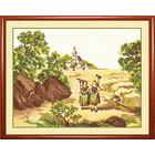 Набор для вышивания Овен №132 «Возвращение с поля» 40*32 см