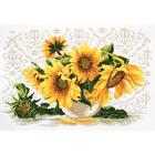 Набор для вышивания Овен №652 «Солнечный букет» 40*27 см