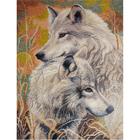 Набор для вышивания Овен №711 «Волчья верность» 30*40 см
