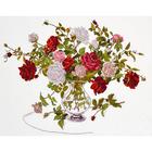 Набор для вышивания Овен №812 «Букет роз» 32*24 см