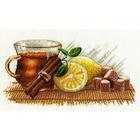Набор для вышивания Овен №900 «Зимний чай» 30*15 см