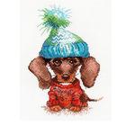 Набор для вышивания Овен №902 «Грустный собак» 13*19 см