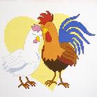 Набор для вышивания Овен №920 «Курочкино счастье» 15*13 см