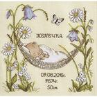 Набор для вышивания Овен №941 «Наш цветочек» 24*23 см