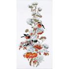 Набор для вышивания Овен №950 «Зимняя композиция» 20*44 см