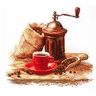 Набор для вышивания Овен №962 «Любимый аромат кофе» 29*26 см