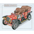 Набор для вышивания Рinn  №13 33-С «Антикварные машины» Дабл фаэтон 29*23 см