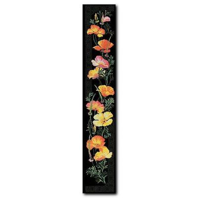 Набор для вышивания Риолис №100/012 «Калифорнийский мак» 20*105 см в интернет-магазине Швейпрофи.рф
