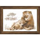 Набор для вышивания Риолис №100/013 «Львиный рай» 60*40 см