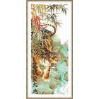 Набор для вышивания Риолис №1042 «Песнь победы. Тигр» (снят) 28*60 см