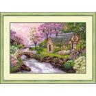 Набор для вышивания Риолис №1098 «Весенний пейзаж» 38*26 см