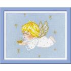 Набор для вышивания Риолис №1135 «Ангелочек с сердцем» 18*15 см