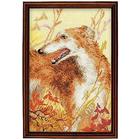 Набор для вышивания Риолис №1150 «Охота. Борзая» 18*27 см