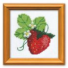 Набор для вышивания Риолис №1165 «Клубничка» 10*10 см
