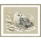 Набор для вышивания Риолис №1241 «Белая сова» 45*35 см