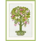 Набор для вышивания Риолис №1295 «Дерево счастья» 21*30 см