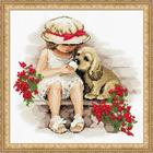 Набор для вышивания Риолис №1333 «Сладкоежки» 30*30 см