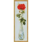 Набор для вышивания Риолис №1375 «Королева цветов. Роза» 15*50 см