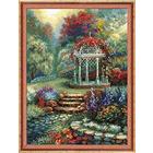 Набор для вышивания Риолис №1383 «Беседка в саду» 30*40 см