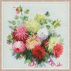 Набор для вышивания Риолис №1384 «Георгины» 45*45 см
