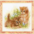 Набор для вышивания Риолис №1391 «Детские забавы» 25*25 см
