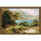 Набор для вышивания Риолис №1397 «Горное озеро» 60*40 см