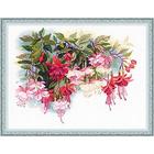 Набор для вышивания Риолис №1398 «Фуксия» 40*30 см