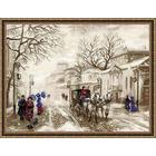 Набор для вышивания Риолис №1400 «Старая улочка» 40*30 см