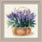 Набор для вышивания Риолис №1404 «Французская лаванда» 25*25 см
