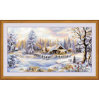 Набор для вышивания Риолис №1427 «Зимний вечер» 41*23 см