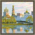 Набор для вышивания Риолис №1430 «Новодевичий монастырь» 40*40 см