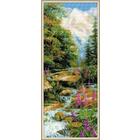 Набор для вышивания Риолис №1487 «Горный ручей» 20*50 см