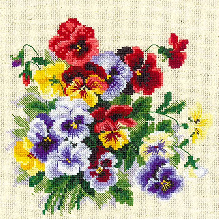 Картинки для вышивание с цветами