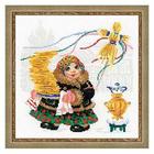 Набор для вышивания Риолис №1518 «Масленица. Блины» 25*25 см