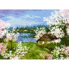Набор для вышивания Риолис №1524 «Яблони в цвету» 24*18 см