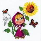 Набор для вышивания Риолис №1568 «Первая встреча» 18*18 см