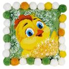 Набор для вышивания Риолис №1589 Подушка «Цыпленок» 30*30 см