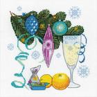 Набор для вышивания Риолис №1597 «С Новым годом!» 25*25 см