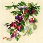 Набор для вышивания Риолис №1616 «Ветка сливы» 30*30 см