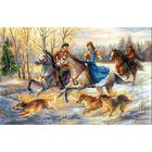 Набор для вышивания Риолис №1639 «Русская охота» 60*40 см