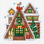Набор для вышивания Риолис №1660 «Охотничий домик» 15*15 см