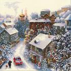 Набор для вышивания Риолис №1678 «Снежная зима» 30*30 см