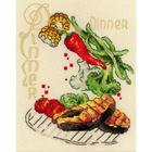 Набор для вышивания Риолис №1686 «Обед» 15*18 см